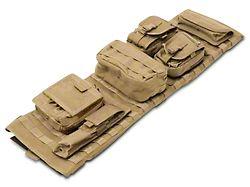 Smittybilt GEAR Overhead Console - Coyote Tan (07-18 Jeep Wrangler JK)