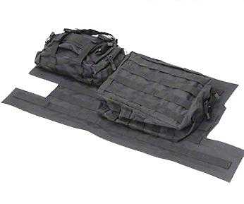 Smittybilt G.E.A.R. Tailgate Cover - Black (97-06 Wrangler TJ)