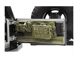 Smittybilt G.E.A.R. Tailgate Cover; O.D. Green (97-06 Jeep Wrangler TJ)