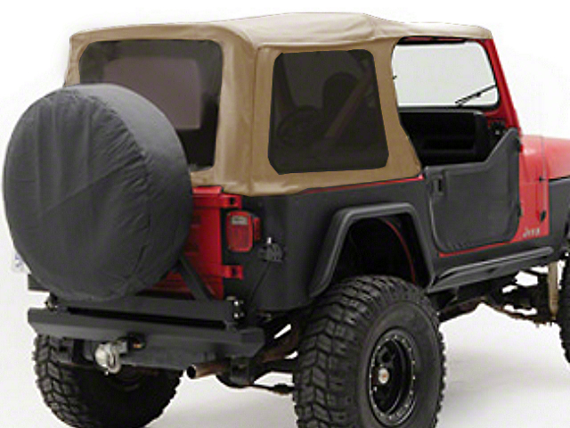Smittybilt Replacement Soft Top w/ Tinted Windows - Spice Denim (97-06 Jeep Wrangler TJ w/ Factory Soft Top, Excluding Unlimited)