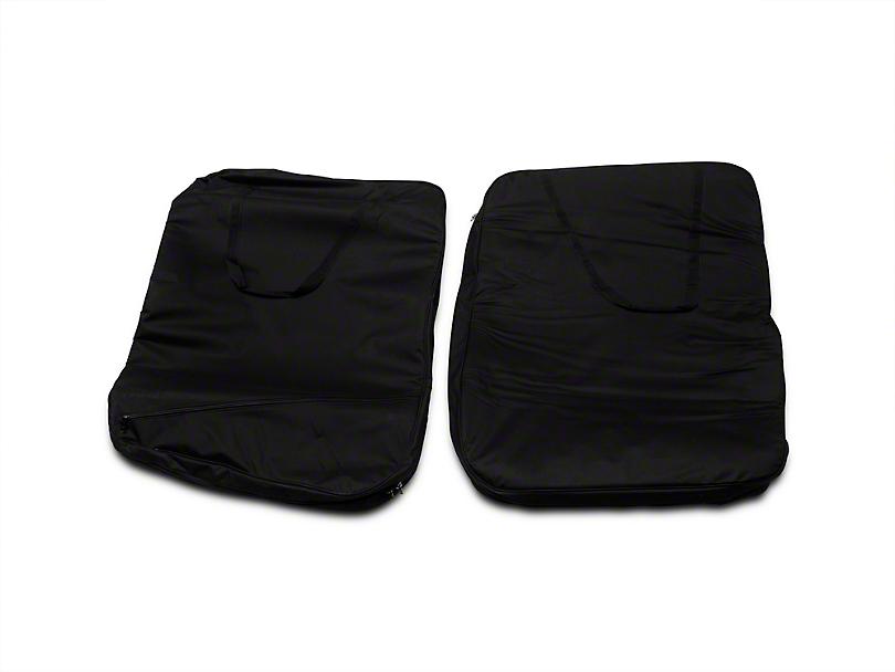 Smittybilt Hard Door Storage Bag - Black (07-18 Jeep Wrangler JK)