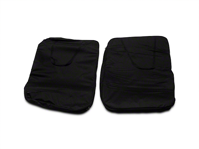 Smittybilt Hard Door Storage Bag; Black (07-18 Jeep Wrangler JK)