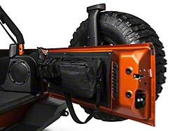 Smittybilt GEAR Tailgate Cover; Black (07-18 Jeep Wrangler JK)