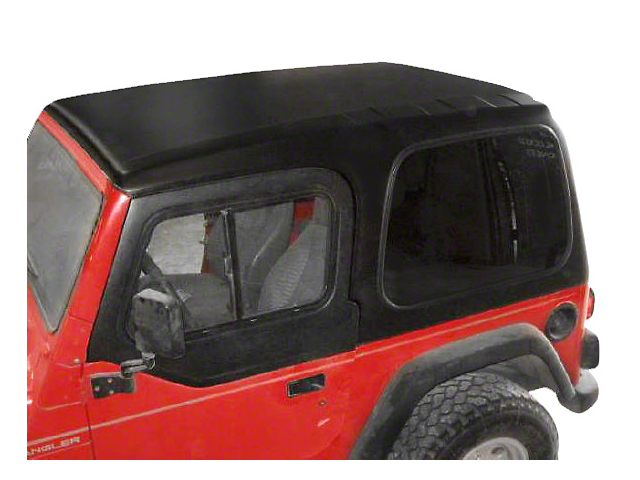 Smittybilt 1-Piece Hard Top with Upper Doors; Textured Black (97-06 Jeep Wrangler TJ, Excluding Unlimited)