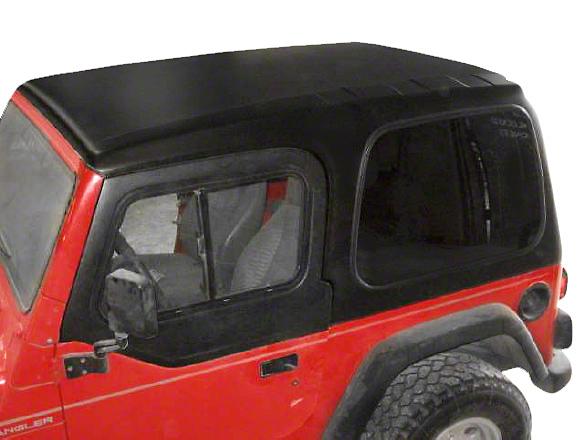 Smittybilt 1-Piece Hardtop w/ Upper Doors - Textured Black (97-06 Wrangler TJ)