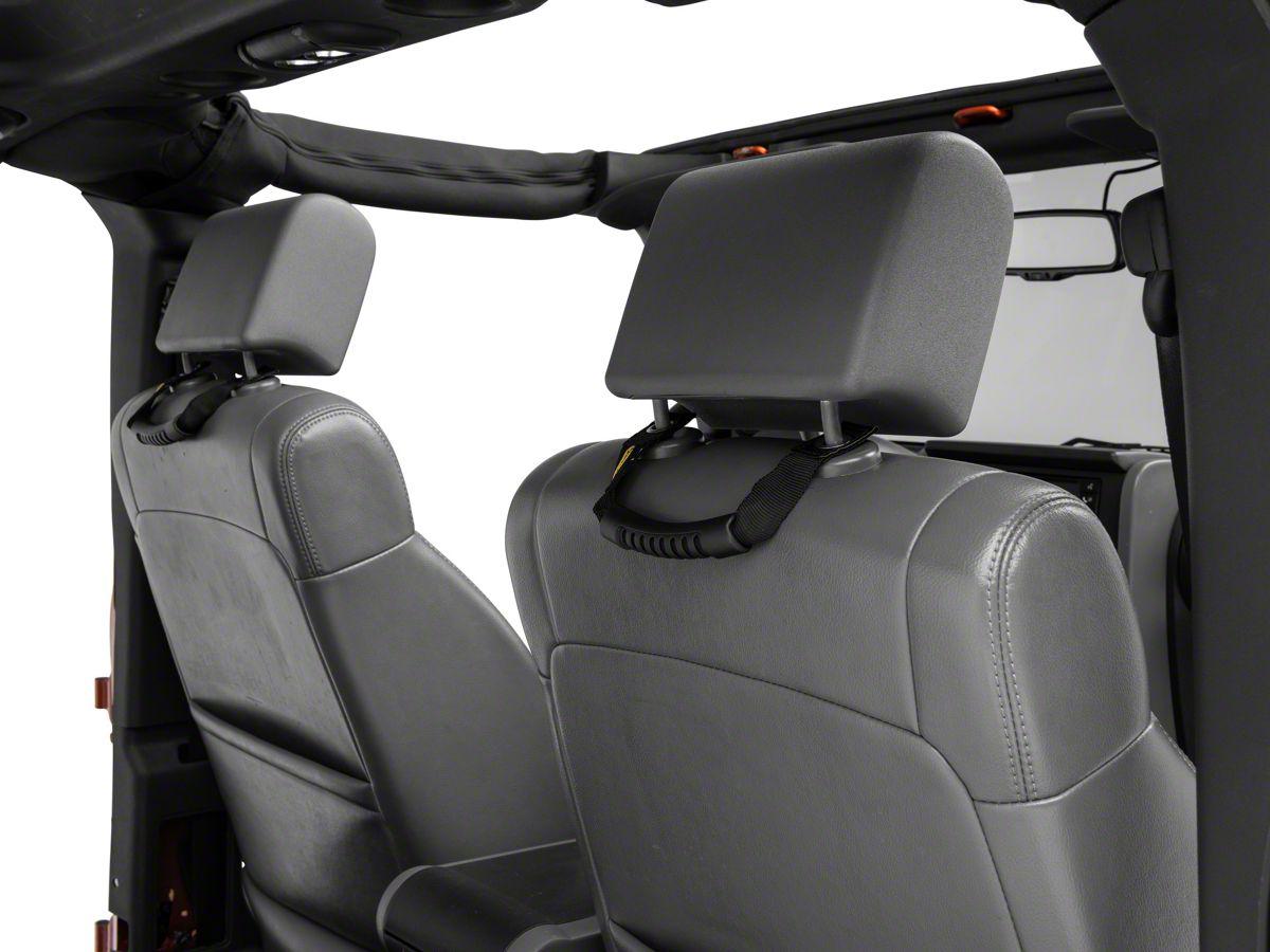 Smittybilt 769311 Grab Handle for 2007-2018 Jeep Wrangler JK Pair