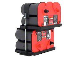 Smittybilt Dual Battery Tray (97-06 Jeep Wrangler TJ)