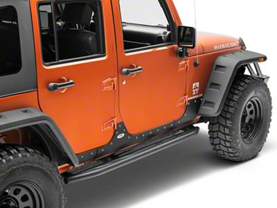 how to install smittybilt xrc body cladding black textured on your rh extremeterrain com Jeep Wrangler Unlimited Manual Jeep Wrangler Unlimited Manual