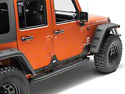 Smittybilt XRC Body Cladding - Black Textured (07-18 Jeep Wrangler JK 4 Door)