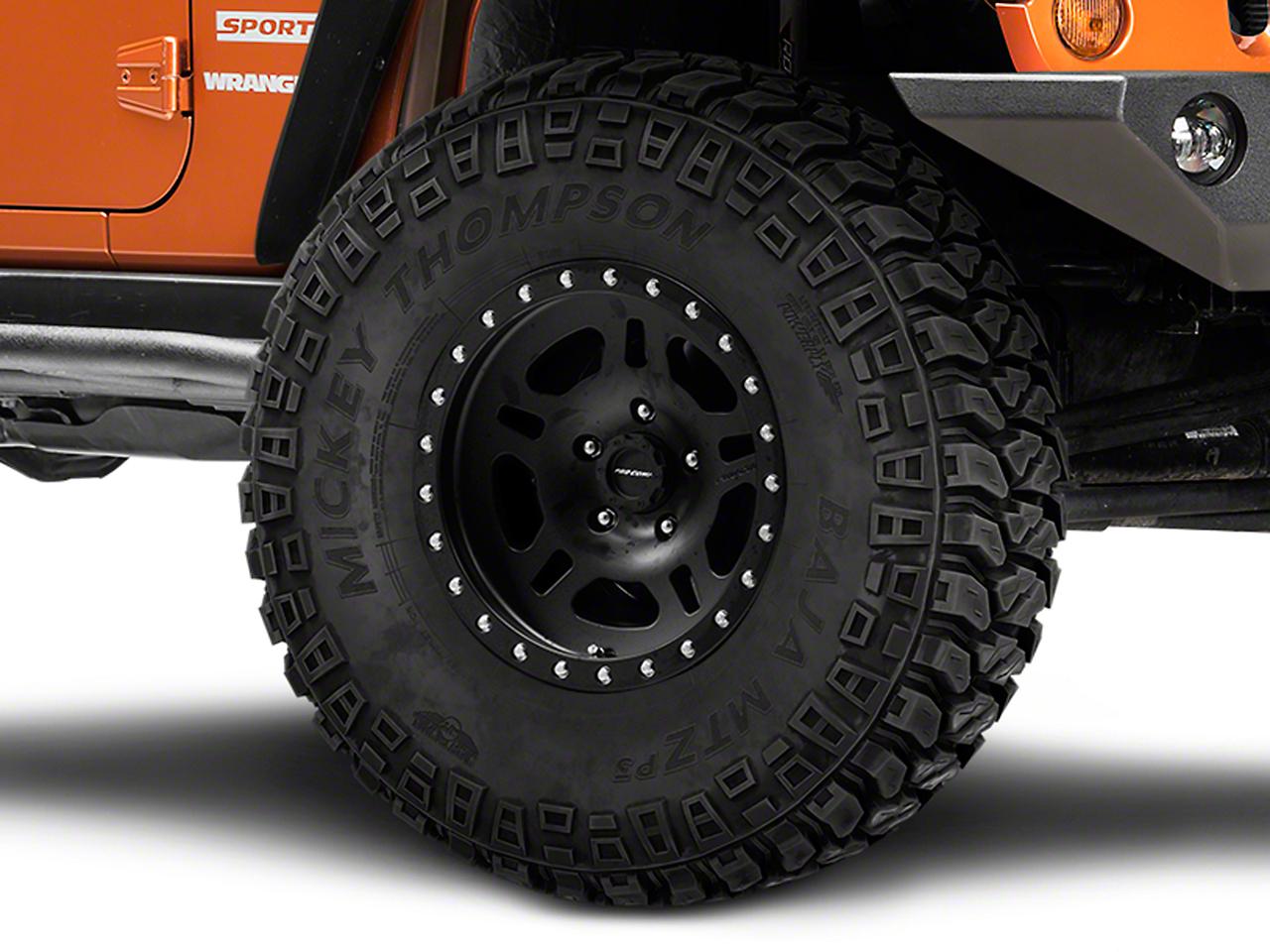 Pro Comp La Paz Series 29 Satin Black Wheel - 16x8 (07-18 Jeep Wrangler JK; 2018 Jeep Wrangler JL)