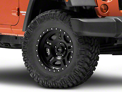 Pro Comp Alloys La Paz Series 5029 Satin Black Wheels (07-18 Wrangler JK)