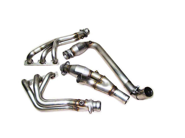 RIPP Long Tube Headers (07-11 3.8L Wrangler JK)