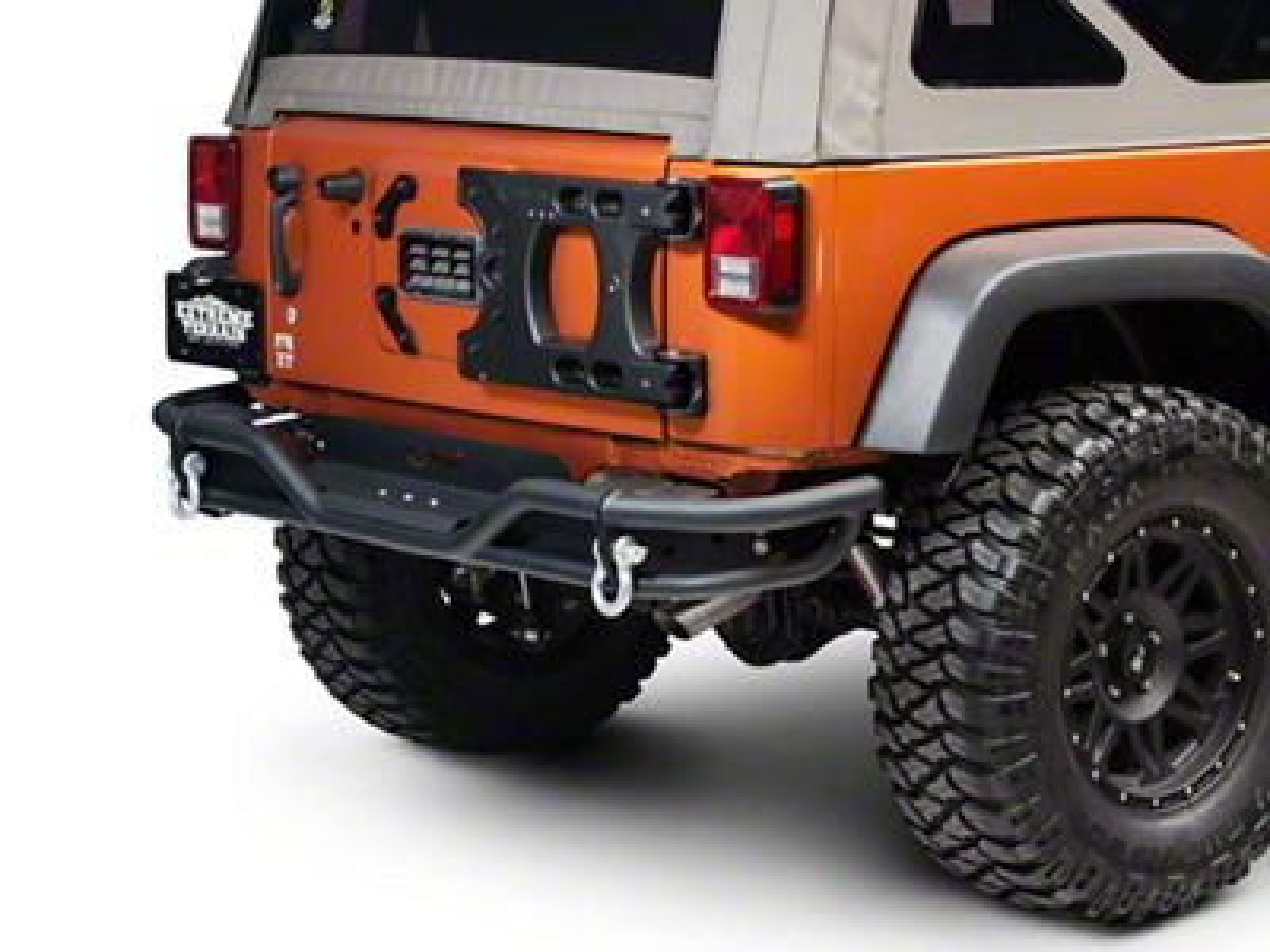Teraflex HD Aluminum Hinged Tire Carrier (07-18 Jeep Wrangler JK)