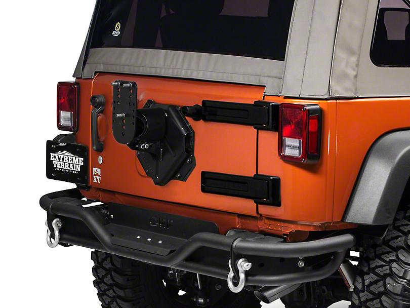 Teraflex HD Adjustable Spare Tire Mounting Kit (07-18 Wrangler JK)