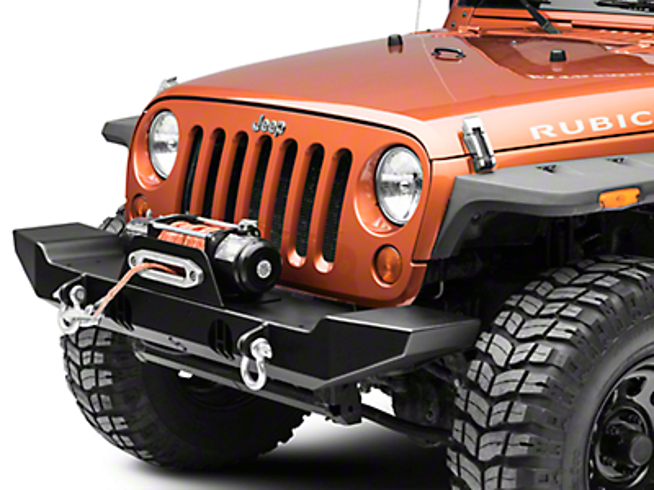 Hyline Offroad Standard Front Bumper Assembly (07-18 Jeep Wrangler JK)