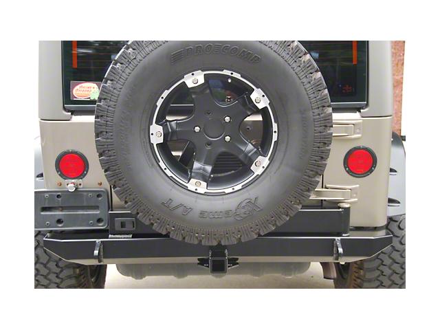 Tire Carrier Ready Rear Bumper (07-18 Jeep Wrangler JK)