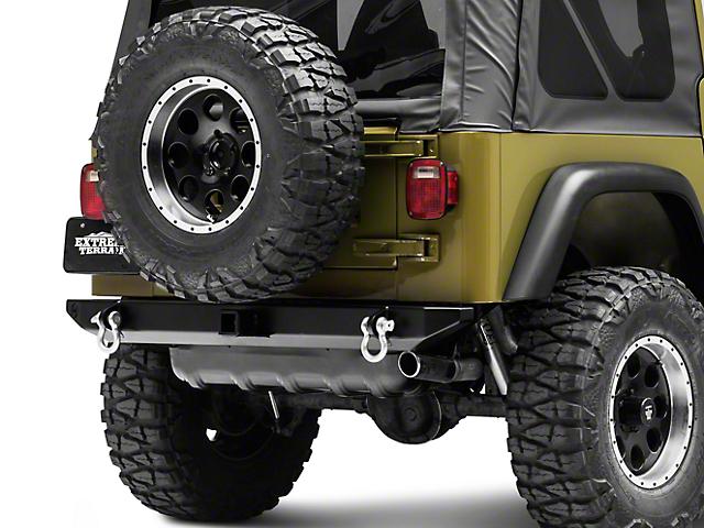 Hyline Offroad Standard Rear Bumper Assembly (87-06 Jeep Wrangler YJ & TJ)