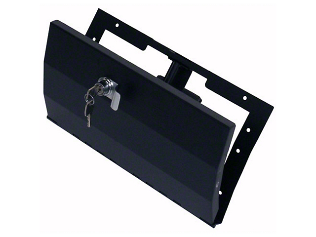 Tuffy Security Glovebox - Black (97-06 Jeep Wrangler TJ)