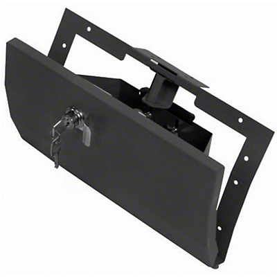 Tuffy Security Glovebox - Charcoal (97-06 Wrangler TJ)