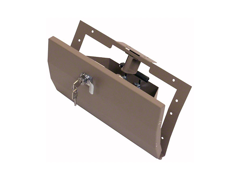Tuffy Security Glovebox - Light Tan (97-06 Jeep Wrangler TJ)
