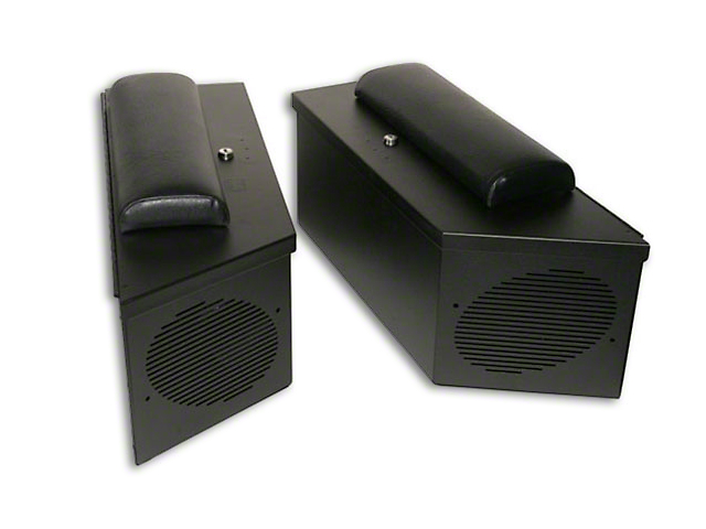 Tuffy Padded Cushion for Speaker Storage Lockbox (87-19 Jeep Wrangler YJ, TJ, JK & JL)