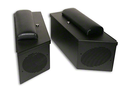 Tuffy Cushion Set for Speaker Storage Lockbox Set (87-18 Jeep Wrangler YJ, TJ, JK & JL)