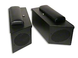 Tuffy Jeep Wrangler Speaker Amp Storage Lockbox Set Black