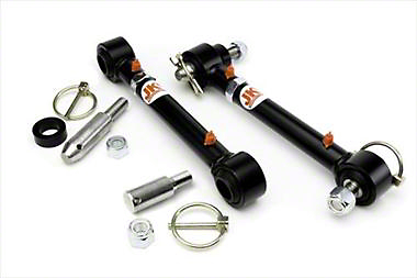JKS Front Swaybar Quicker Disconnect System for 0-2 in. Lift (07-18 Wrangler JK)