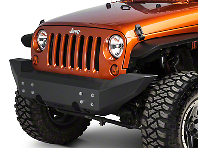Off Camber Fabrications by MBRP Front Full Width Non Winch Bumper (07-18 Wrangler JK)