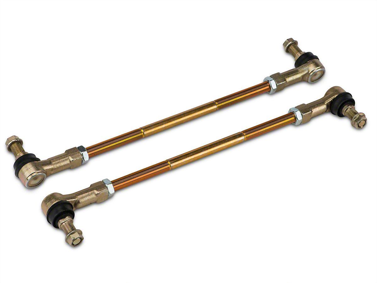 JKS Front Or Rear Adjustable Swaybar End Link Kit for 0-6 in  Lift (07-18  Jeep Wrangler JK)