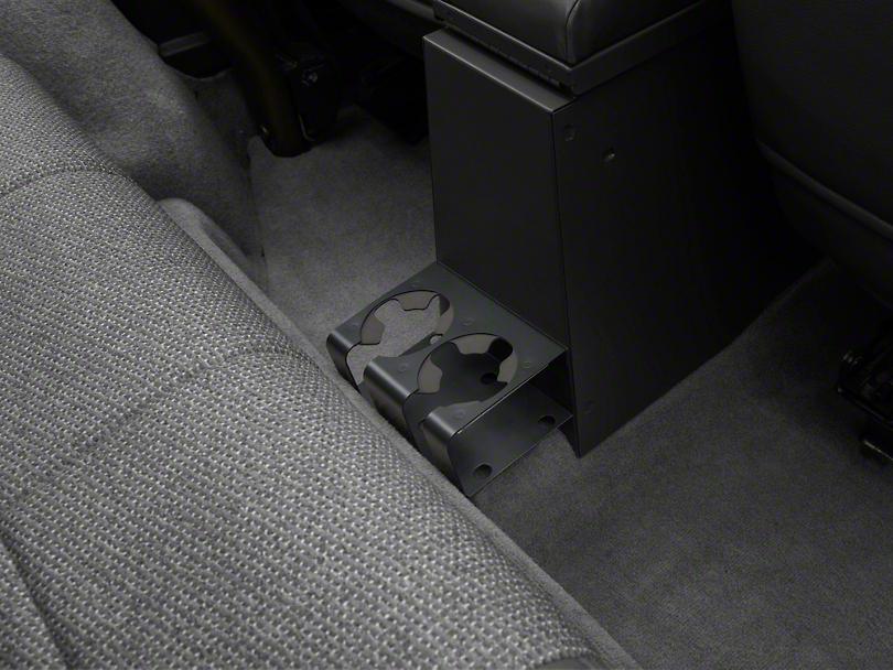 Tuffy Drink Holder for Rear of Center Consoles - Dark Slate (97-06 Wrangler TJ)