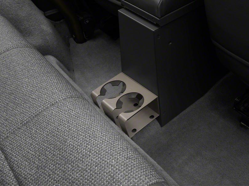 Tuffy Drink Holder for Rear of Center Consoles - Medium Khaki (97-06 Wrangler TJ)