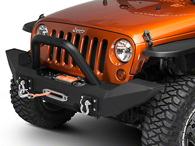Off Camber Fabrications by MBRP Bumper Light Bar/Grille Guard (07-18 Jeep Wrangler JK w/OCF Bumper)