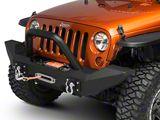 Off Camber Fabrications by MBRP Bumper Light Bar/Grille Guard (07-18 Jeep Wrangler JK w/OCF Bumper)