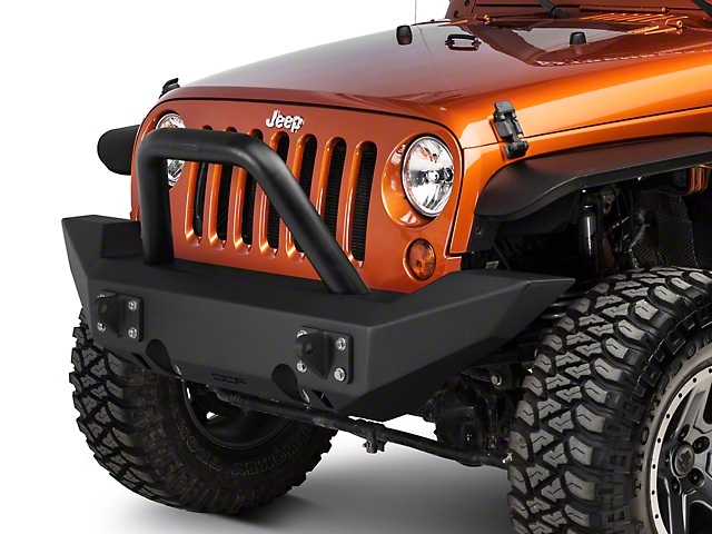 Off Camber Fabrications by MBRP Full Width Non-Winch Front Bumper (07-18 Jeep Wrangler JK)