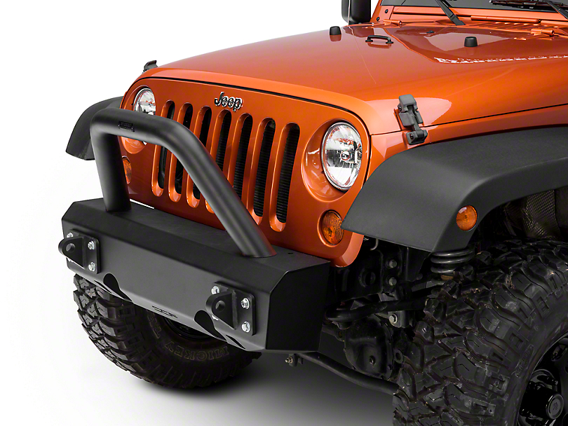 Off Camber Fabrications by MBRP Stubby Front Non-Winch Bumper Package (07-18 Wrangler JK)