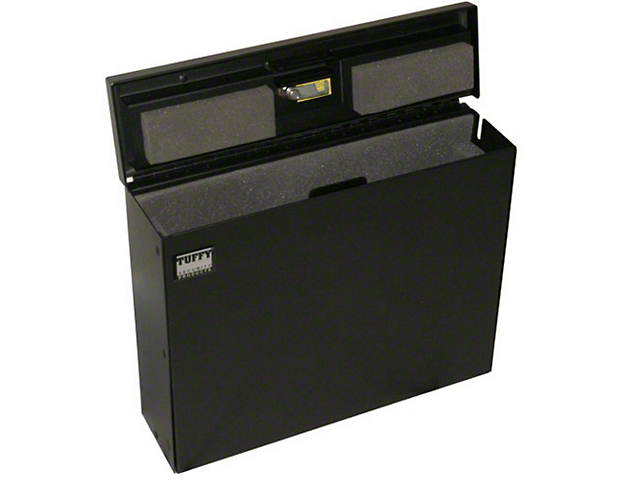 Tuffy Laptop Computer Security Lockbox (87-18 Jeep Wrangler YJ, TJ, JK & JL)