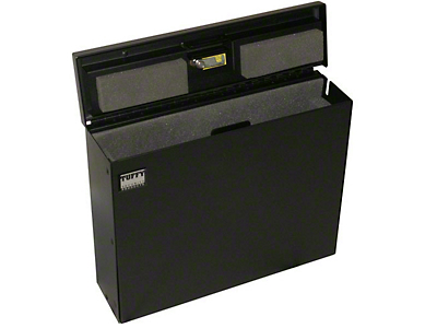 Tuffy Laptop Computer Security Lockbox (87-18 Wrangler YJ, TJ, JK & JL)