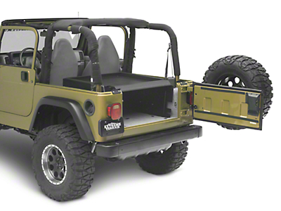 Tuffy Security Deck Enclosure (87-06 Jeep Wrangler YJ & TJ)