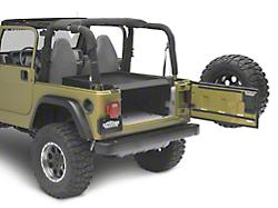 Smittybilt Jeep Wrangler Security Storage Vault Rear