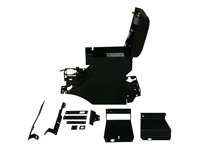 Tuffy Security Full Console - Deluxe (11-18 Wrangler JK)