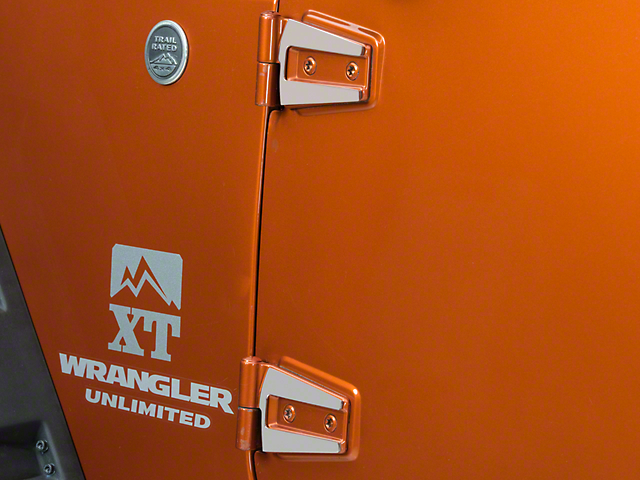 T-REX T1 Series Stainless Hood / Door Hinge Kit (07-18 Wrangler JK 4 Door)