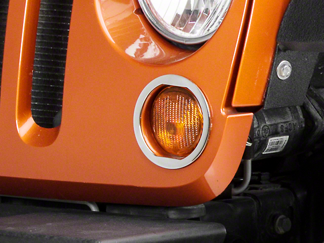 T-REX T1 Series Turn Signal Rings (07-18 Jeep Wrangler JK)