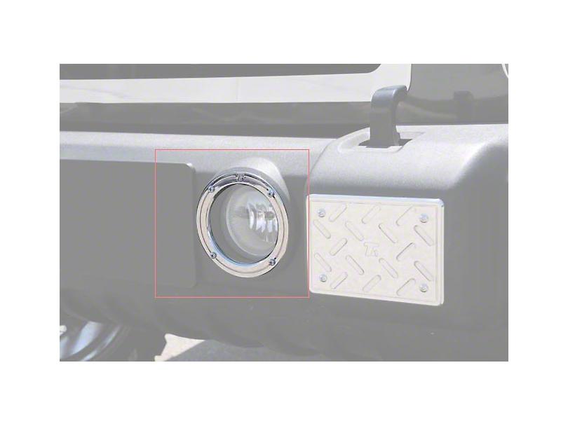 T-REX T1 Series Fog Light Rings (07-18 Jeep Wrangler JK)