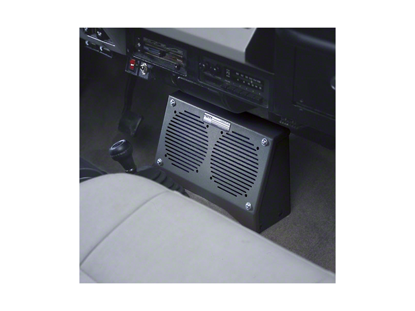 Tuffy Dual Speaker Security Box (87-95 Wrangler YJ)