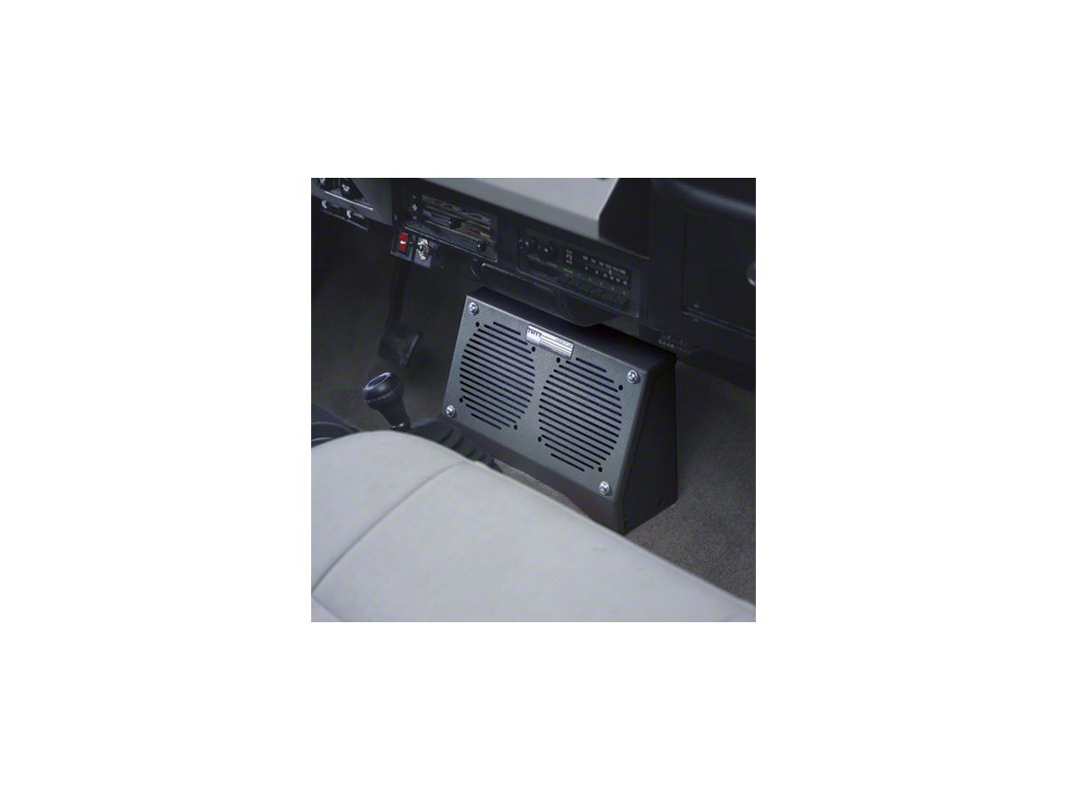 Tuffy Dual Speaker Security Box (87-95 Jeep Wrangler YJ)
