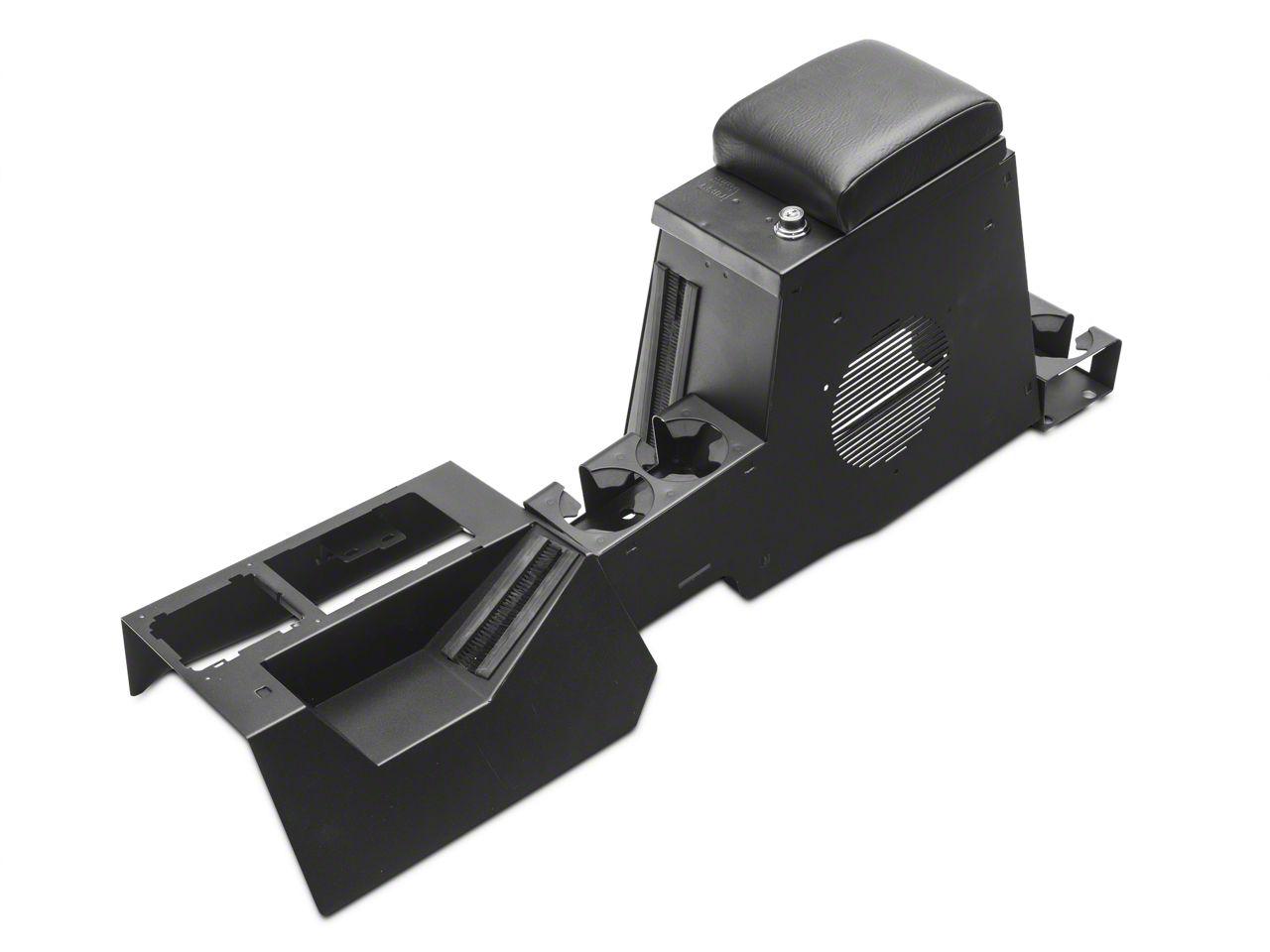 Tuffy Series II Speaker/Storage Security Console - Black (97-06 Jeep Wrangler TJ)