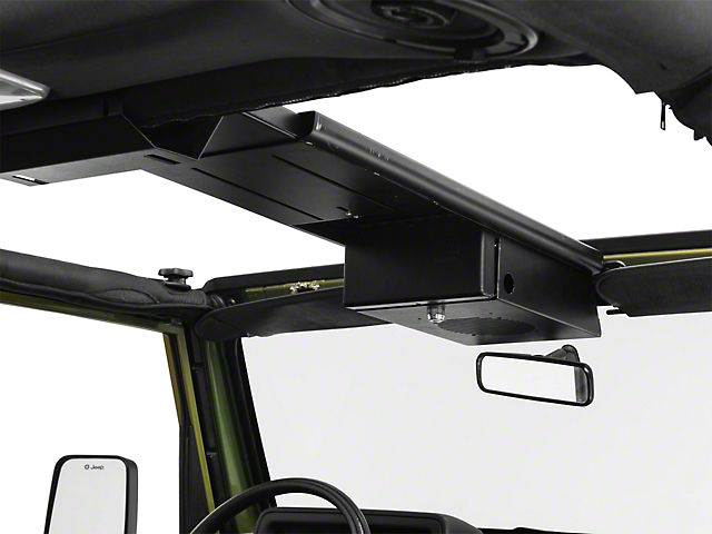 Tuffy Single Compartment Overhead Console (87-06 Jeep Wrangler YJ & TJ)