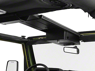 Tuffy Single Compartment Overhead Console (87-06 Wrangler YJ & TJ)