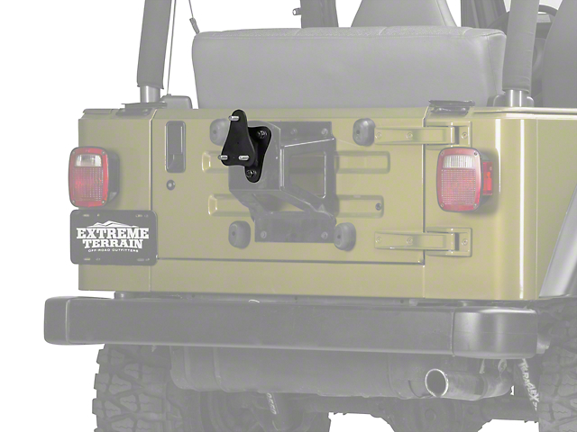 Off Camber Fabrications by MBRP Spare Tire Bracket Kit (97-06 Jeep Wrangler TJ)